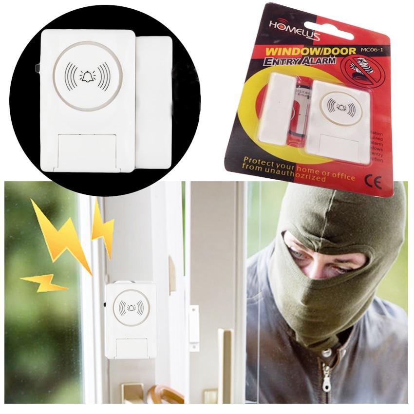 Wireless Door Window Magnet Sensor Detector Alarm System For Smart Home Security Door Window Opening Wireless Magnetic Sensor