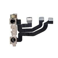 HOUSTMUST 1pcs higt quality Repair Parts Rear front Camera Proximity Sensor Flex Module for iPhone X front camera flex
