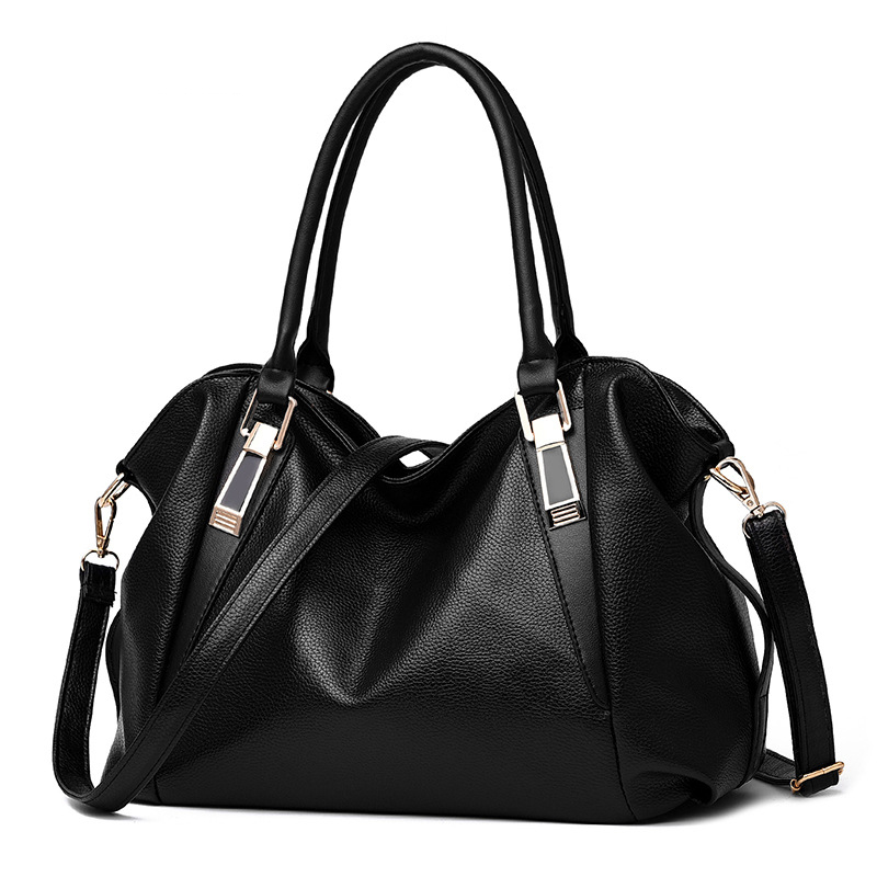 MIWIND(MIWIND)New Woman Bag PU high capacity leisure solid color soft  shoulder