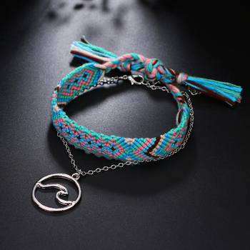 Bracelet De Cheville Tissu