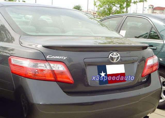 Высокое качество Праймеры oe Стиль Неокрашенный ABS Спойлер для Toyota Camry 2007 2008 2009 2010 2011
