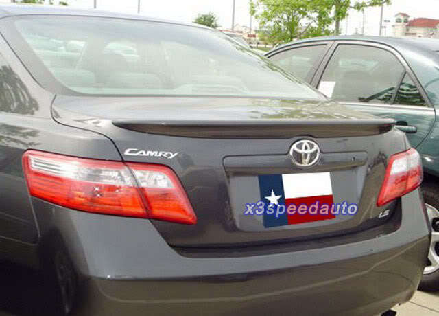 цена на High Quality Primer OE Style Unpainted ABS Spoiler For Toyota Camry 2007 2008 2009 2010 2011