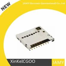 Original 10 Uds 1040310811 104031 0811 conector de memoria PC ranura para tarjeta empuje hacia dentro, extraíble.