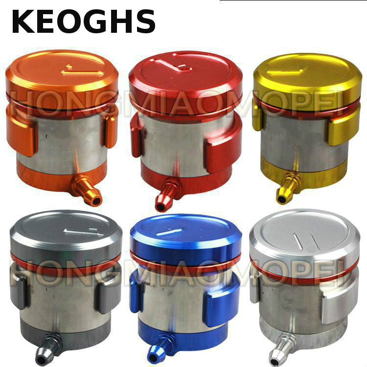 KEOGHS Cnc Motorcycle Brake Fluid Reservoir Clutch Tank Cylinder Master Oil Cup Case For Kawasaki For Yamaha Ducati For Aprilia motorcycle brake fluid reservoir clutch tank oil fluid cup for yamaha yzf r25 r15 r6 r125 kawasaki z750 z800 fz8 fz1 fz6r mt09