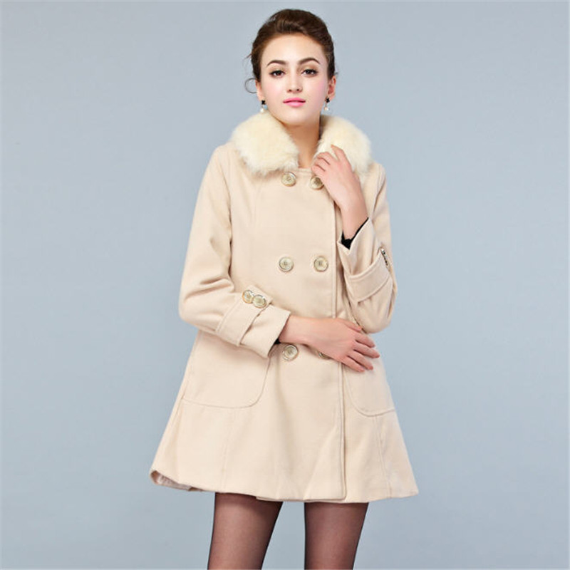 Winter White Cashmere Coat Promotion-Shop for Promotional Winter ...
