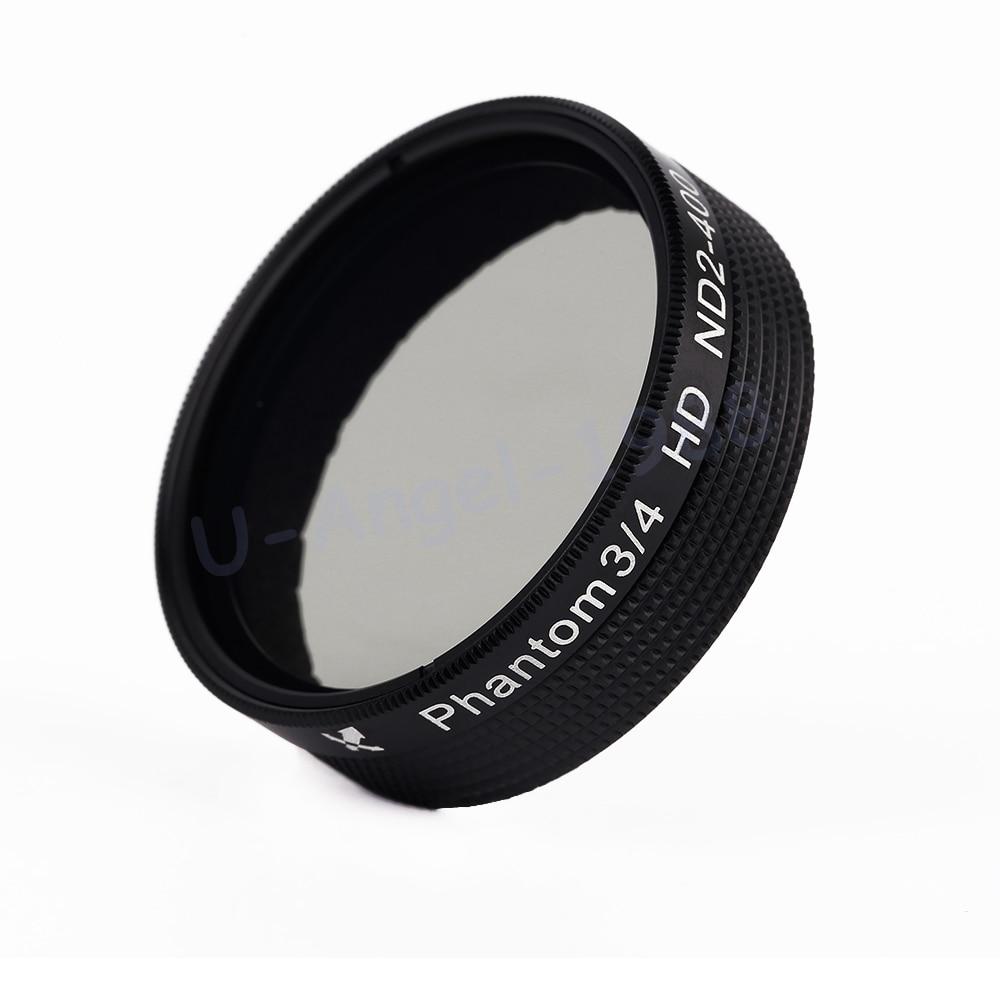 Wholesale 1pcs Adjustable ND 2 400 Neutral Density Fader Filter Lens for DJI Phantom 3