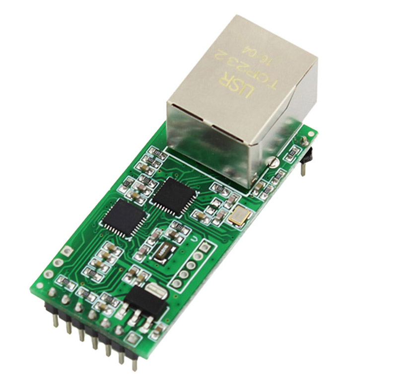 Ethernet Module Network To Serial Port RJ45 To TTL Network Port USR-TCP232-T2 can be applied to the 232/485 interfaces for IOTEthernet Module Network To Serial Port RJ45 To TTL Network Port USR-TCP232-T2 can be applied to the 232/485 interfaces for IOT