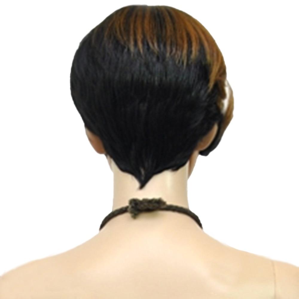HAIRJOY 1B / 30/613 Μικτή Χρώμα Σύντομη - Συνθετικά μαλλιά - Φωτογραφία 5