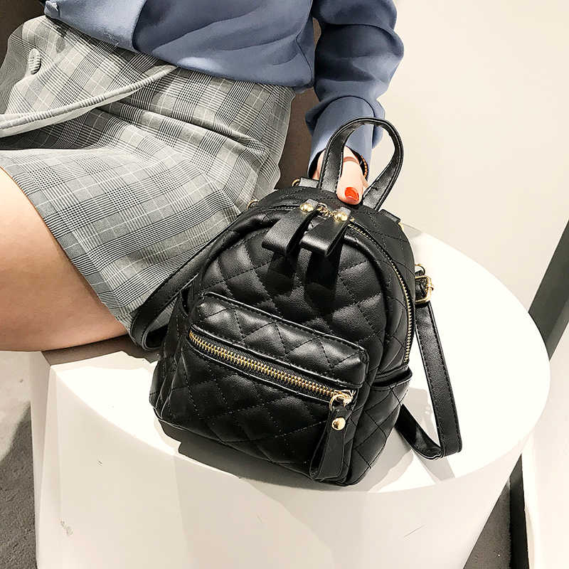 11be956b26 School Backpacks Style 2018 PU Leather Women Backpack Designers Brand for  Teenage Girl High Quality Travel