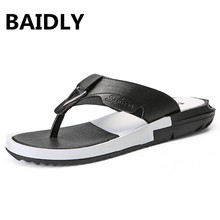 Брендовые роскошные кожаные шлепанцы; мужские летние кожаные Вьетнамки ручной работы; мужские сандалии; пляжная прогулочная обувь