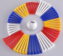 supply regular size colorful plastic golf tees