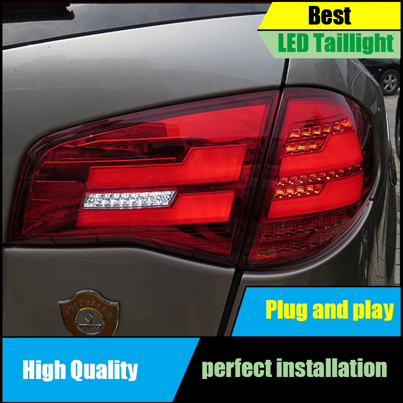 Car Styling Tail Light Case for Renault Koleos 2011 2014 Tail Lights LED Taillight Rear Lamp Driving+Brake+Park+Signal Light