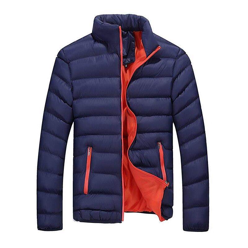 2018 Новая мужская куртка зимнее пальто тренд Корейская версия тонкие пуховики