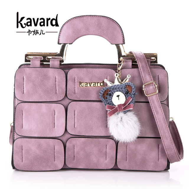 Aliexpress.com : Buy Fashion Pu leather bags luxury handbags women ...