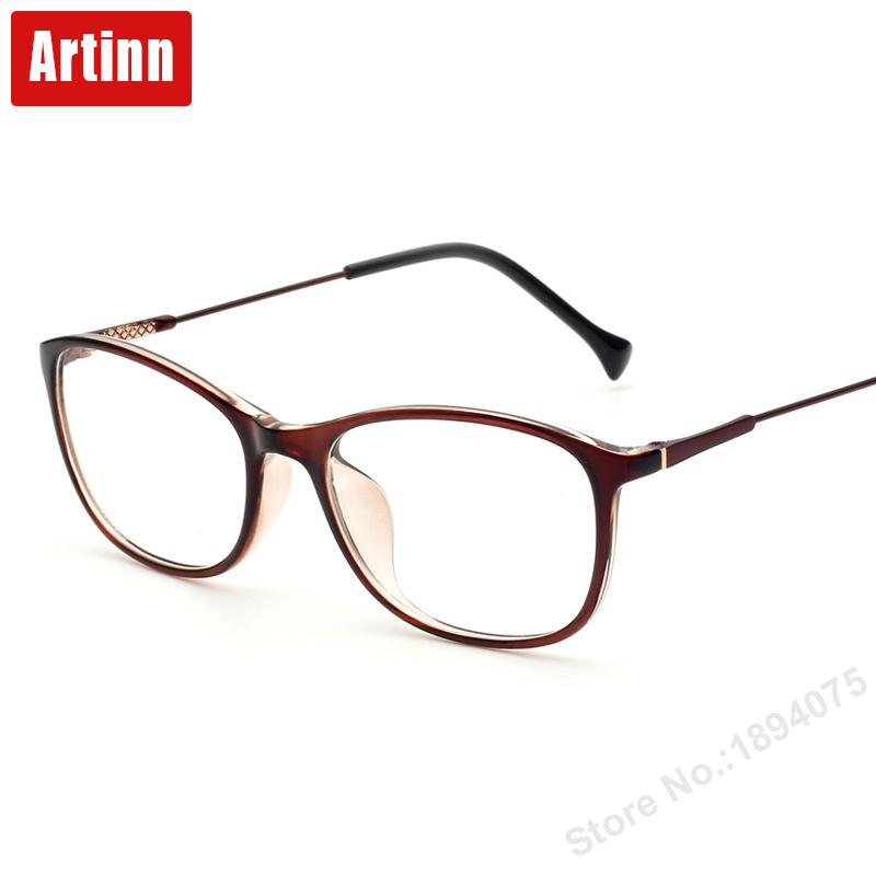Hombres y mujeres retro gafas de marco de arte fresco gafas gafas de ...
