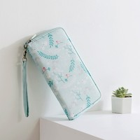 New Fashion Spring Flowers Travel Passport Package Wallets ID Holders Card Folder Paperwork Passport Bag Multifunctional