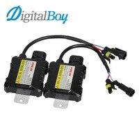 Digitalboy 1 Paire DC 12 V 35 W Slim HID Xenon Ballast Conversion De Voiture Blocs pour H1 H3 H4 H7 H8 H11 880 9004 9005 9006 Ampoules