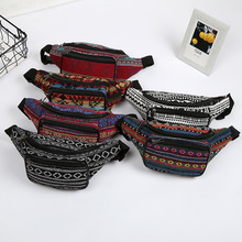 10PCS / LOT Belt Bag Bohemian Vintage Fanny Pack For Women Cute Festival Ladies Waist Bag Girls Bum Bag sansarya belt bag boho bohemian vintage fanny pack for women cute festival hippie ladies waist bag tribal aztec girls bum bag