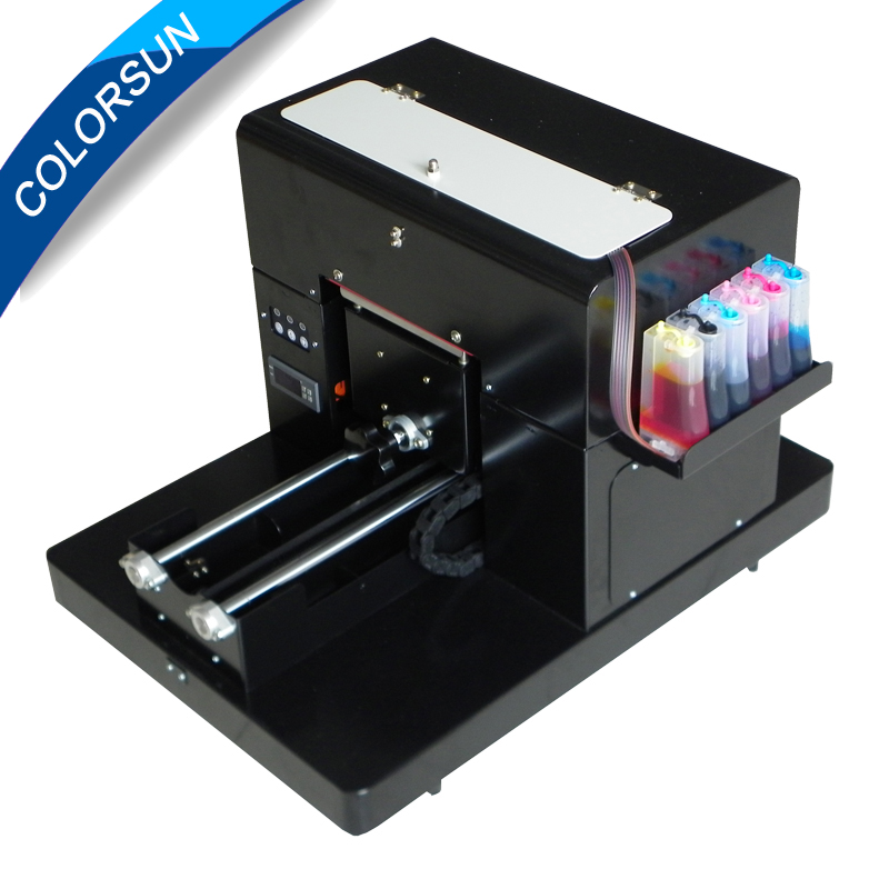 Multifunctional A4 size flatbed printer machine for print for CD /DVD Cards Phone case/T-shirt/Pen/Plastic printer multifunctional a4 size flatbed printer machine for print for cd dvd cards phone case t shirt pen plastic on hot sales