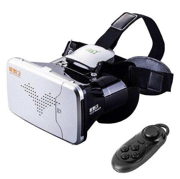 Hot <font><b>Fashion</b></font> Superb Google <font><b>VR</b></font> BOX <font><b>Virtual</b></font> <font><b>Reality</b></font> 3D View <font><b>VR</b></font> <font><b>Glasses</b></font> + Bluetooth Wireless Controller For 4.0-6.0 inch Cellphone