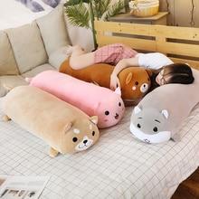 1pc 60/90cm Cartoon Soft Plush Pillows Staffed Animal Shiba Inu Hamster Cat Teddy Bear Plush Toys for Children Lovely Xtmas Gift