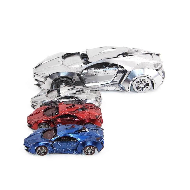 Noël Manuel De Jigsaw Mini Puzzle Multi Cadeaux Fun 3d Style Bricolage Voiture Enfants Jouets Éducatifs Collection Modèle Métal OyvN80mnw