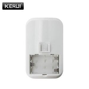 Image 5 - 2pc/4pc Lot KERUI 433Mhz bezprzewodowy inteligentny czujnik ruchu PIR Motion dla GSM PSTN System alarmowy w domu bez anteny na podczerwień