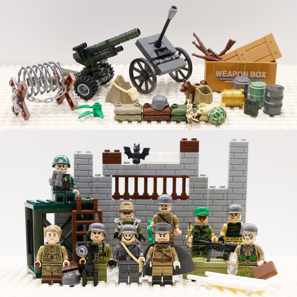 lego military weapon army
