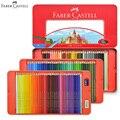 100 colores Faber Castell lápices de colores clásicos juego de lata para artistas dibujo, boceto, libro para colorear productos de arte Premium para niños