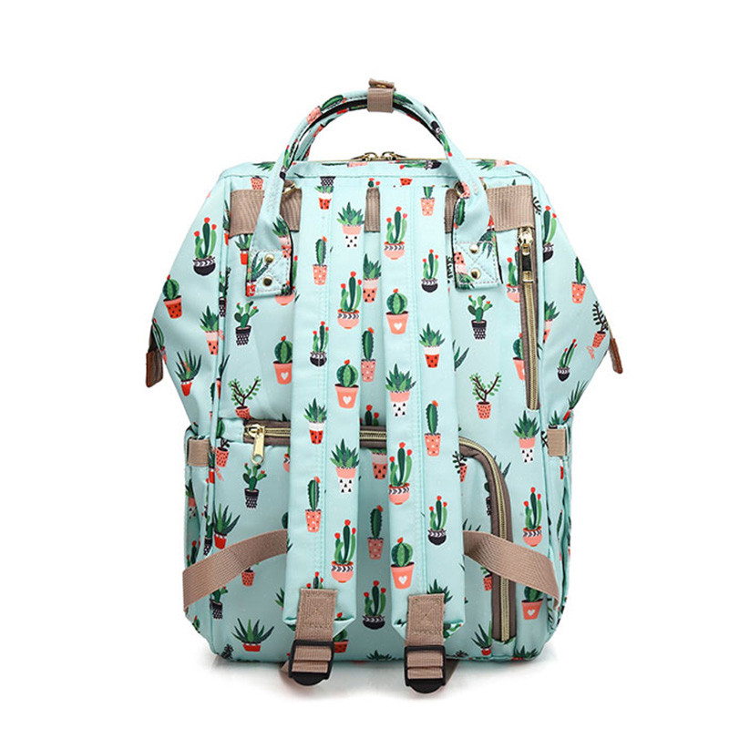 Cactus-Mummy-Maternity-Diaper-Mother-Nappy-Bagpack-Large-Baby-Nursing-Bag-Women-Backpack-Stroller-Bag-Baby(2)