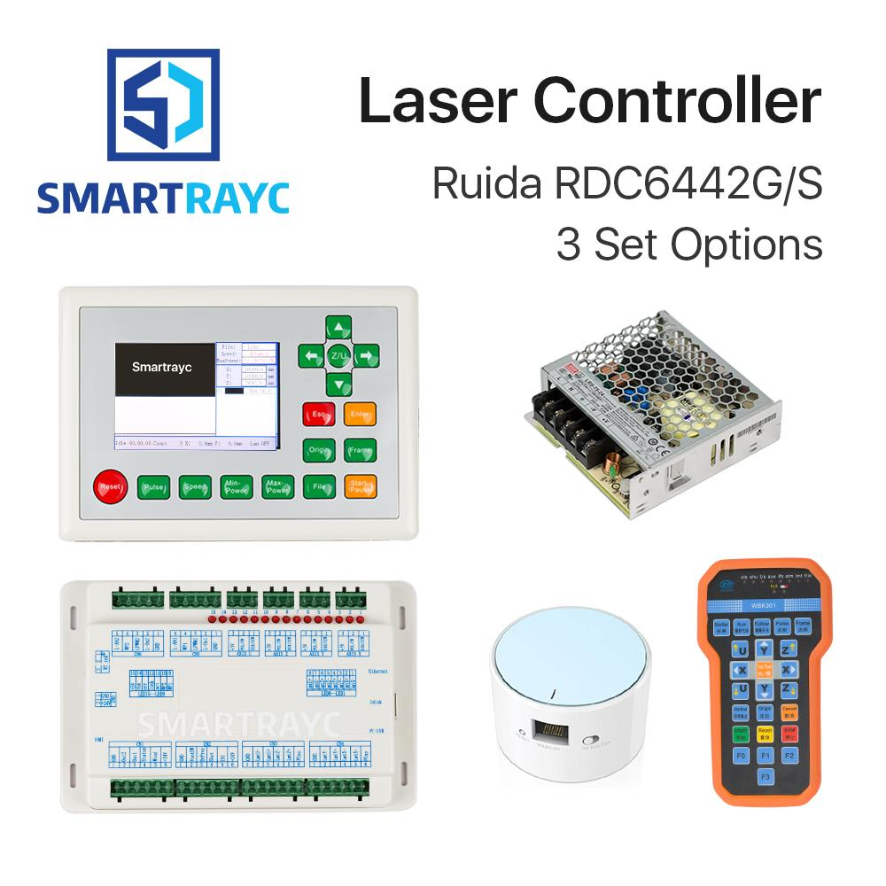 Smartrayc Ruida RDC6442G DSP Controller + PSU / WIFI / Handle for Co2 Laser Engraving Cutting Machine