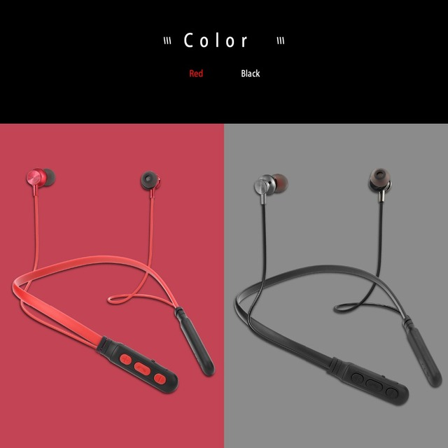 IBESI Y06 Bluetooth Earphone Sport Wireless Headphones Neckband Magnetic Headset Handfree Earbuds with Mic for Xiaomi Huawei