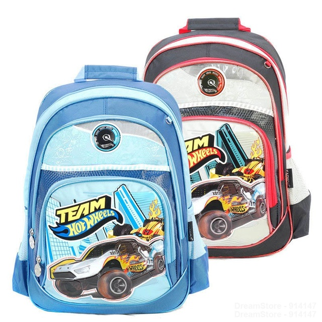 Hot Sale Fashion Cartoon Car School Bags Boys Cool School Backpacks Children Schoolbags Teenagers Mochila Infantil