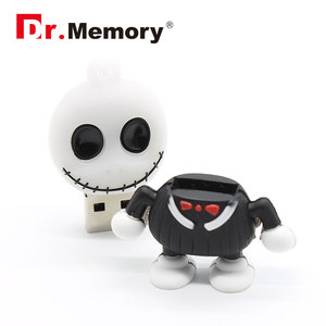 Image 3 - Funny USB Flash Drives Skull Skeleton Pendrives 32GB 4GB 8GB 16GB Pen Drive Personalized Memory Stick I Flashdisk Creative Gifts