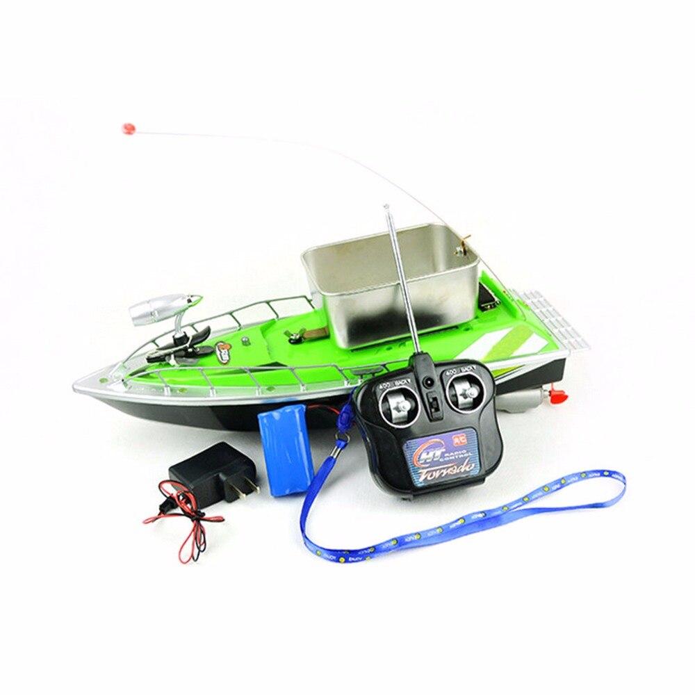 цена на RC Boats Remote Control radio model ship high speed mini rectifies fast fishing bait remote control toys children motorboats boy
