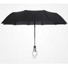 170365/ультра-светильник из углеродного волокна двойной Зонт/автоматический складной зонт от дождя/нано зонтик ткань/тонкая работа