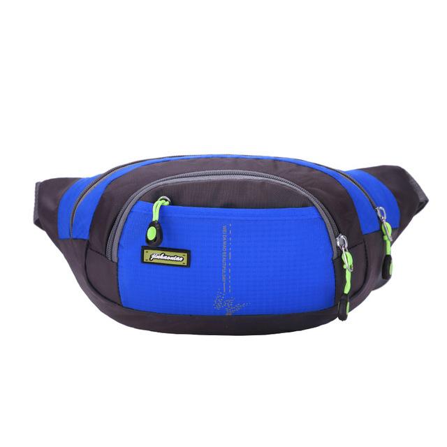 Nylon bolso de La Cintura Bolsillos Del Bolso de los Hombres y Mujeres de Múltiples Fuction Bum Fanny del Bolso de Hombro Ocio Bolso Cabestrillo Ajustable Cinturón Paquete