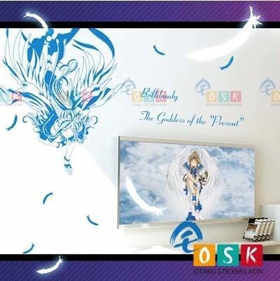 Pegatina Anime Cartoon Car Sticker Ah! My Goddess! blldandy Vinyl Wall Sticker Decal Decor