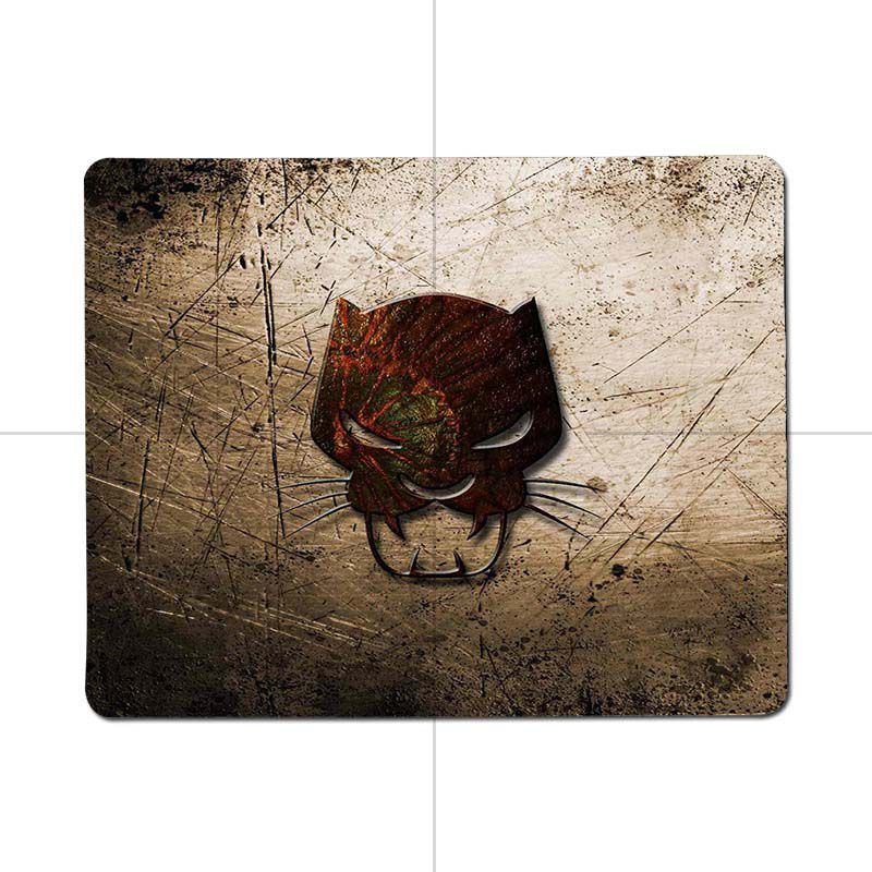 MaiYaCa 2018 Новый Marvel Comics Черная пантера комфорт небольшой Мышь коврик игровой Мышь pad Размеры 25x29 см 18x22 см резиновая Мышь коврики