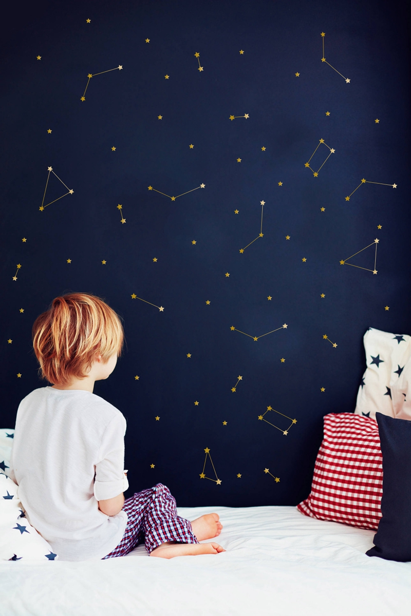 Constellation Wall Decal Kids Room Decoration