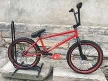 Fiend Type O diy bmx bikes 20 full crmo full bearings red cheap Street Steel Aluminum Alloy Male