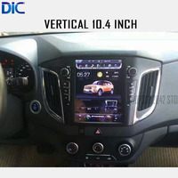 DLC navigation gps player wide and vertical stereo android 6.0 navigation car radio audio video player For Hyundai IX25 CRETA