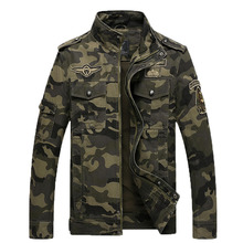 2018 the new spring and autumn men's casual dress camouflage military clothing Long-sleeved jackets men jacket size M-XXXL 115