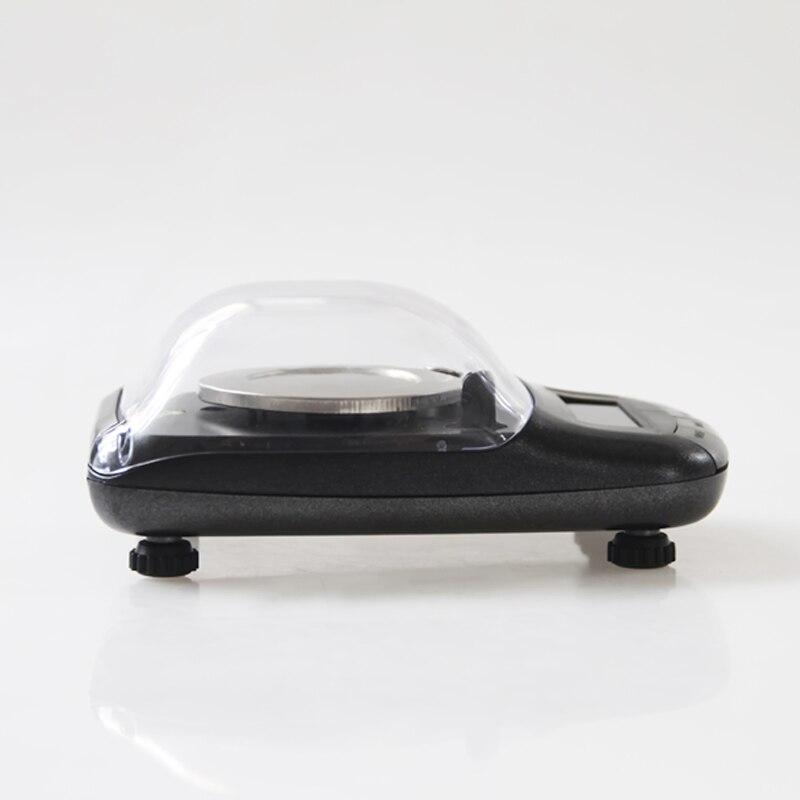 Balance électronique portative de bijoux de précision de 0.001g 20g/0.001 Balance de pesage de poche médicale de germe d'or de diamant - 3