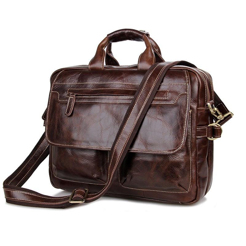 Genuine Leather Bag Business Men Handbags Cowhide Men Crossbody Bag Mens Travel Bags Laptop Briefcase Bag for ManGenuine Leather Bag Business Men Handbags Cowhide Men Crossbody Bag Mens Travel Bags Laptop Briefcase Bag for Man