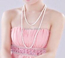 OEM ODM завод осень-зима новейший стиль жемчужное длинное ожерелье много способов ношения подходит ко всему свитер жемчужное ожерелье ювелирн...