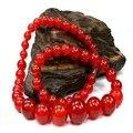6 mm caliente venta suelta perlas naturales para la moda de ágata roja de la joyería del grano collar de buda
