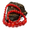 6mm hot sale natural loose beads for fashion red agate bead jewelry Buddha necklace