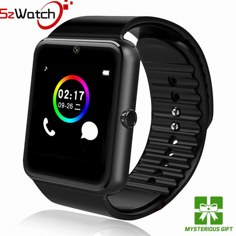SzWatch Original Smart Uhr GT08 Unterstützung Sim TF Karte Bluetooth Konnektivität Android IOS Telefon Sport Handgelenk Tragen PK Q18 DZ09