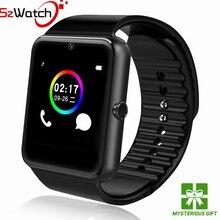 Szwatch исходном Смарт часы GT08 Поддержка sim-карта TF Bluetooth Подключение Android IOS Телефон спортивные наручные одежда PK Q18 DZ09